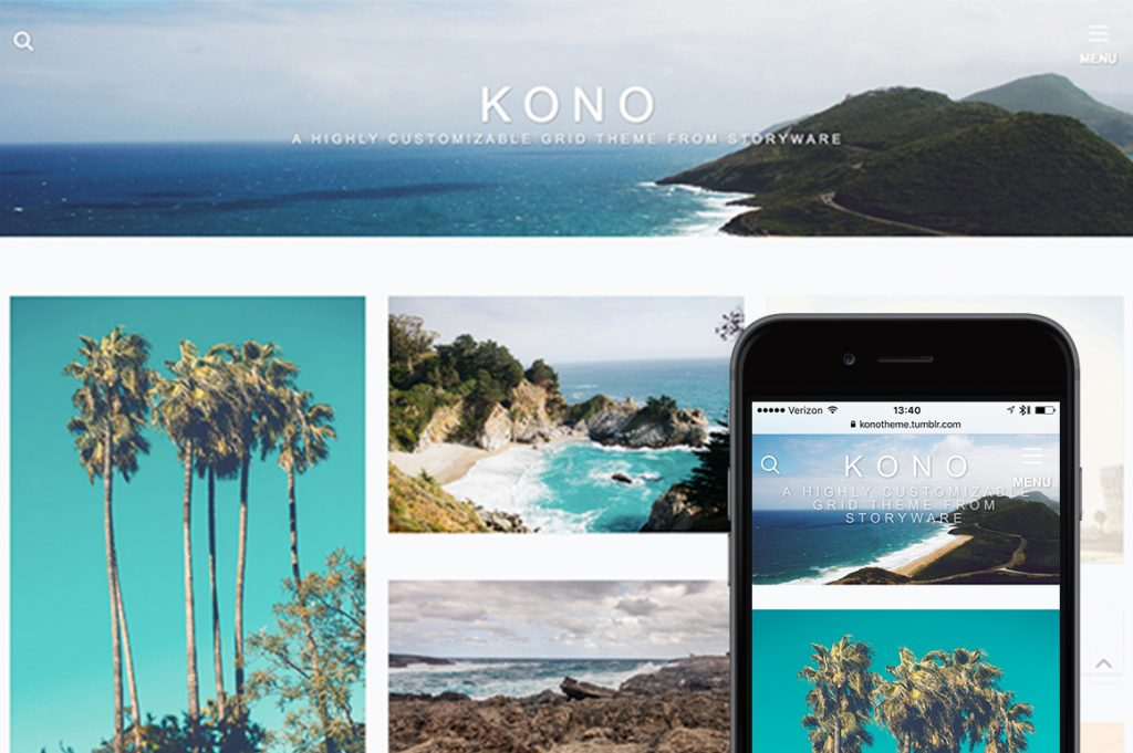 Kono Tumblr Theme