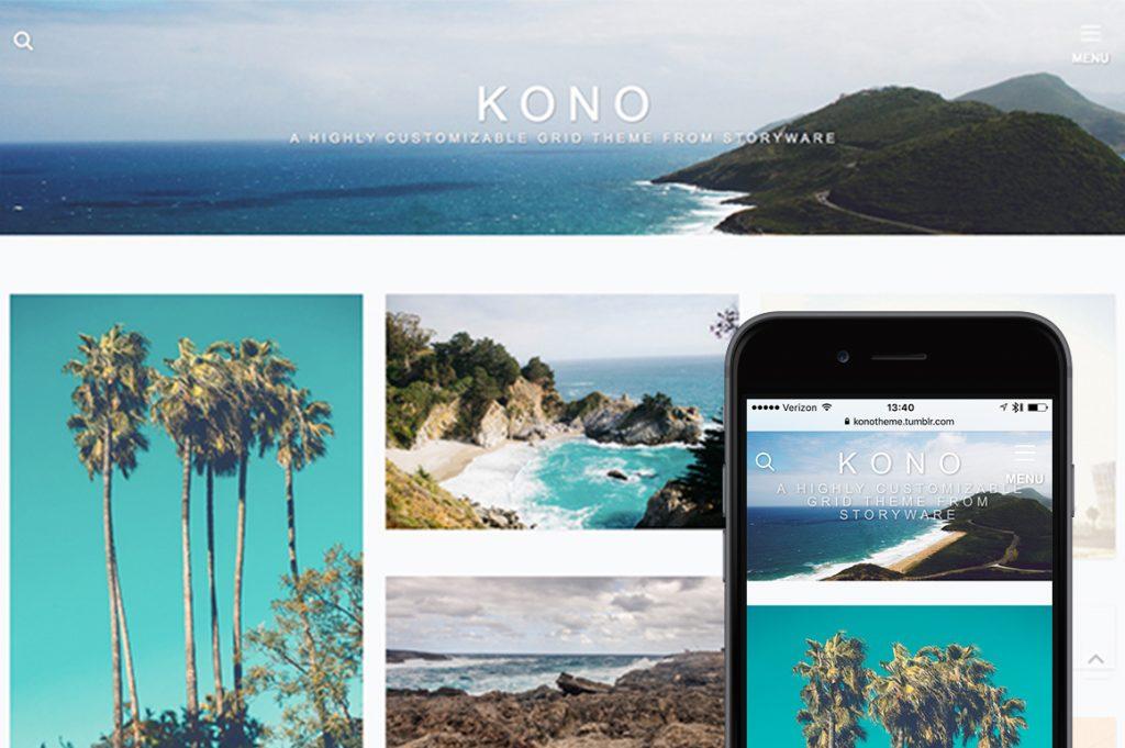 Kono Tumblr Theme