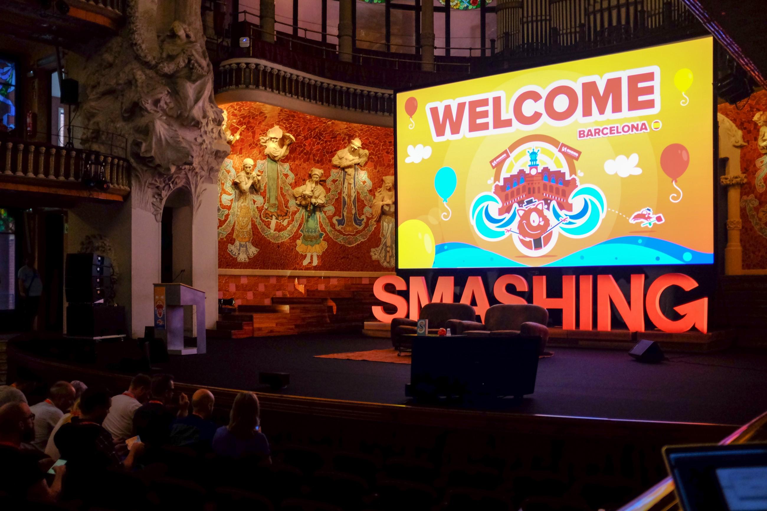 SmashingConf Barcelona 2016