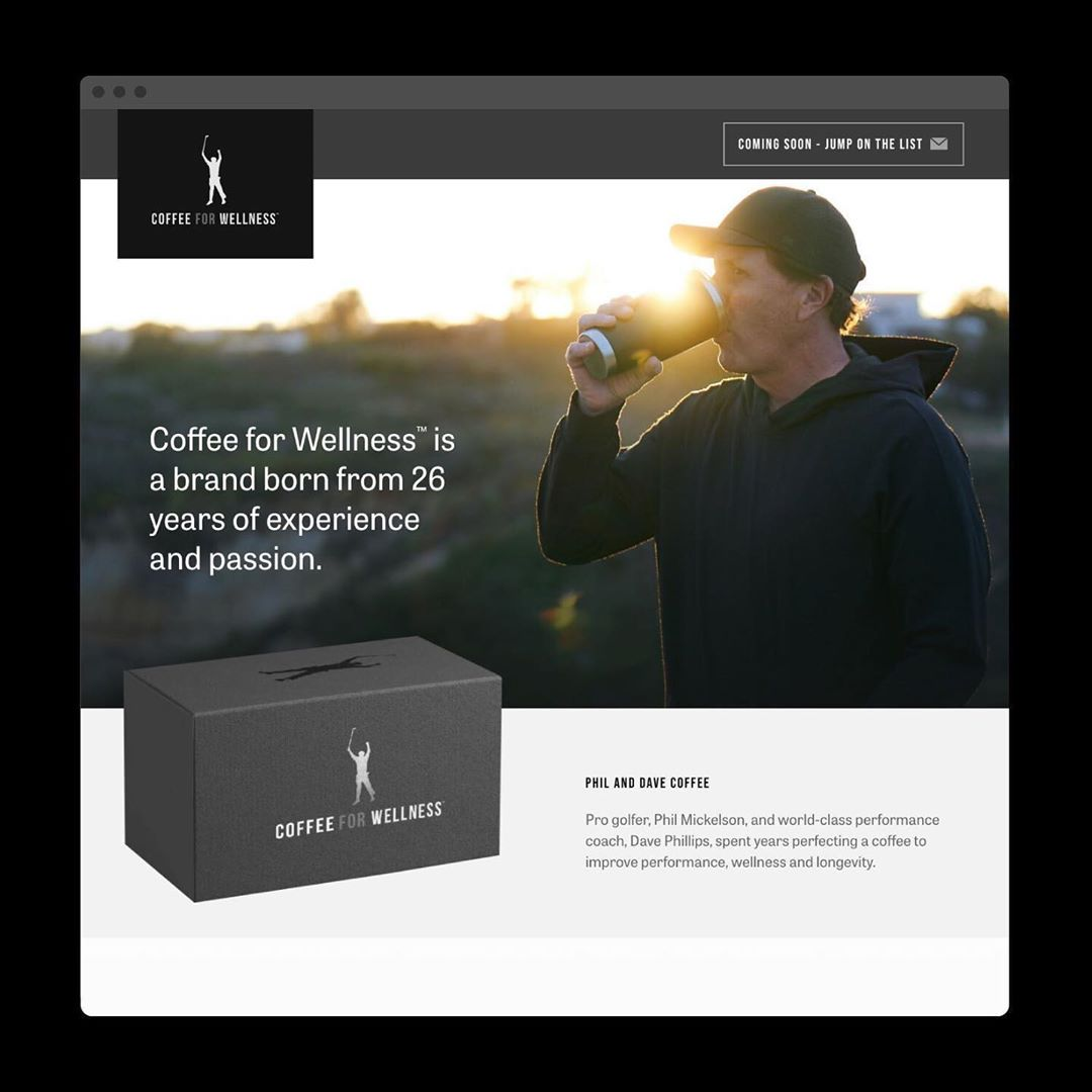 Coffee For Wellness Coming Soon Website